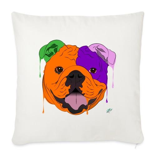 Bulldog - Copricuscino per divano, 45 x 45 cm