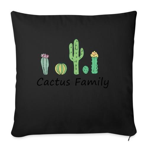 Cactus family - Sofakissenbezug 44 x 44 cm