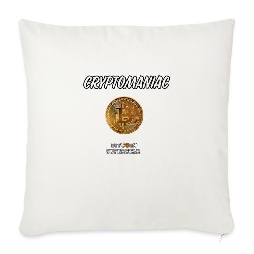Cryptomaniac - Copricuscino per divano, 45 x 45 cm