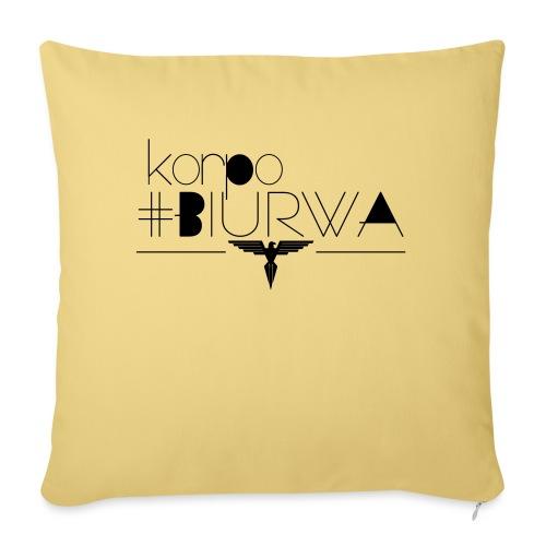 Korpo biurwa - Poszewka na poduszkę 45 x 45 cm