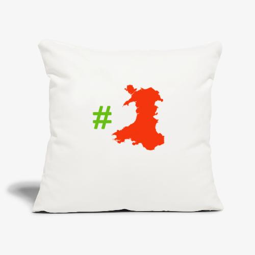Hashtag Wales - Sofa pillowcase 17,3'' x 17,3'' (45 x 45 cm)