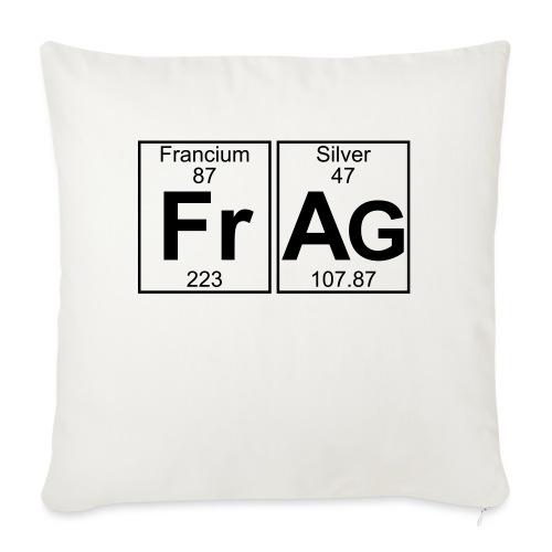 Fr-Ag (frag) - Full - Sofa pillowcase 17,3'' x 17,3'' (45 x 45 cm)