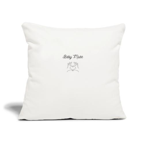 Babymuse design - Housse de coussin décorative 45x 45cm