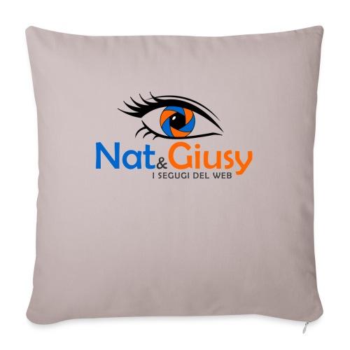 Nat e Giusy - Copricuscino per divano, 45 x 45 cm