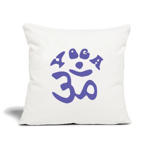albero di yoga yogi namaste pace amore arte hippie - Copricuscino per divano, 45 x 45 cm
