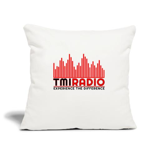 NEW TMI LOGO RED AND BLACK 2000 - Sofa pillowcase 17,3'' x 17,3'' (45 x 45 cm)
