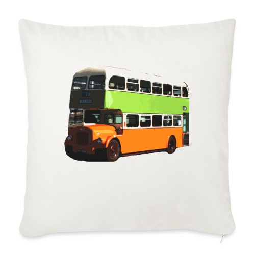 Glasgow Corporation Bus - Sofa pillowcase 17,3'' x 17,3'' (45 x 45 cm)