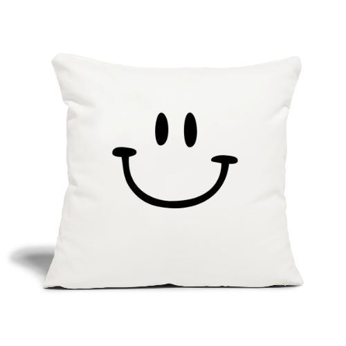 ptb smiley face - Sofa pillowcase 17,3'' x 17,3'' (45 x 45 cm)