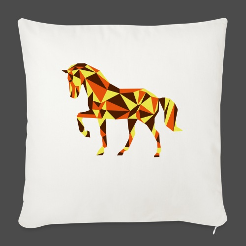 Horse - Sofa pillowcase 17,3'' x 17,3'' (45 x 45 cm)