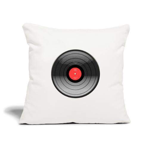 Vinyl Sunrise - Poszewka na poduszkę 45 x 45 cm