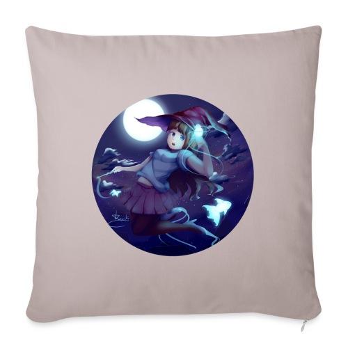 Witch in the Night - Copricuscino per divano, 45 x 45 cm