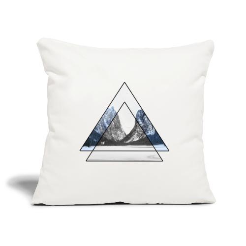 mountains geometric triangular landscape - Copricuscino per divano, 45 x 45 cm