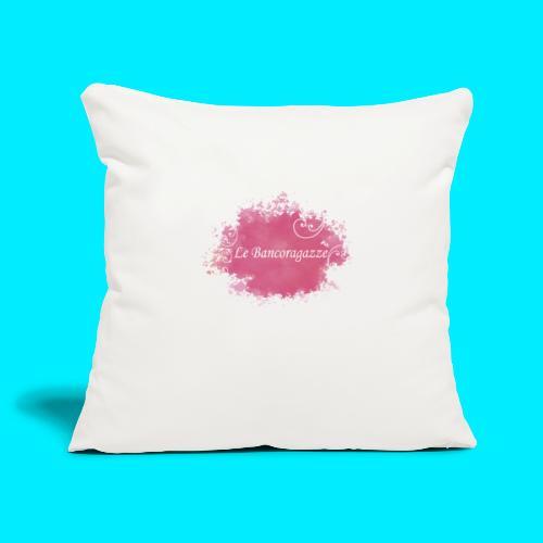 Bancoragazze - Copricuscino per divano, 45 x 45 cm
