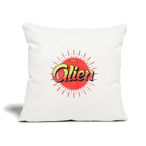 Alien Vintage Logo - Sofaputetrekk 45 x 45 cm