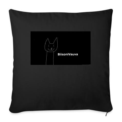 biisonivauva - Sohvatyynyn päällinen 45 x 45 cm