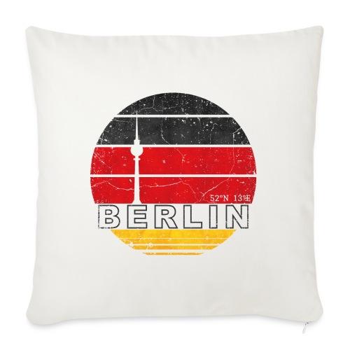 BERLIN, Germany, Deutschland - Sofa pillowcase 17,3'' x 17,3'' (45 x 45 cm)