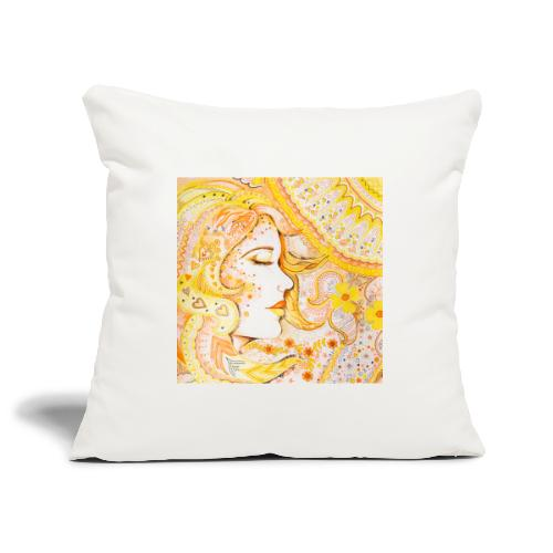 Fröken Sol Kudde - Soffkuddsöverdrag, 45 x 45 cm