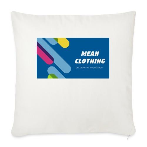 MEAH CLOTHING LOGO - Sofa pillowcase 17,3'' x 17,3'' (45 x 45 cm)