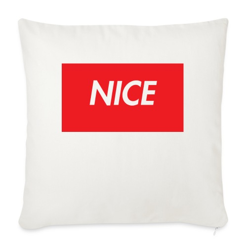 NEW* COOL* NICE * INSPO TEE***** - Soffkuddsöverdrag, 45 x 45 cm