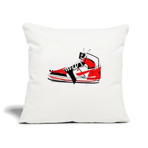 Destrukt my Shoes by MiZAl Touch Concept - Housse de coussin décorative 45x 45cm