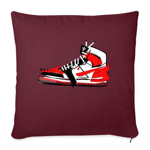 Destrukt my Shoes by MiZAl Touch Concept - Housse de coussin décorative 45 x 45 cm