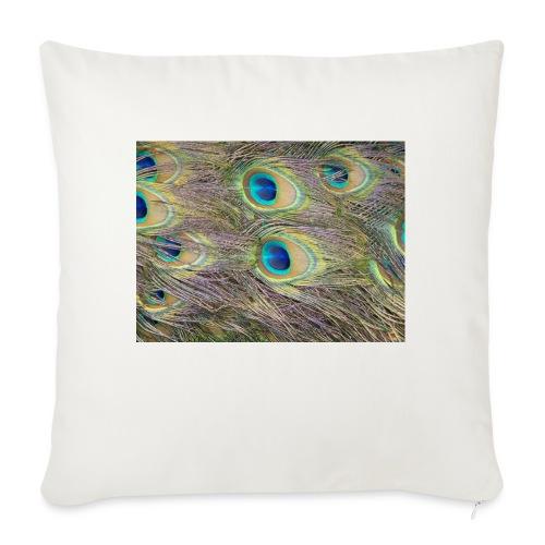 Peacock feathers - Sohvatyynyn päällinen 45 x 45 cm