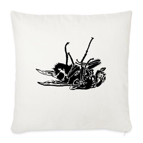 mouche morte - Housse de coussin décorative 45x 45cm