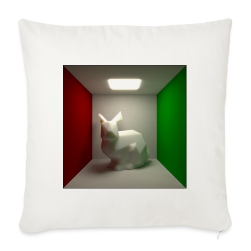 Bunny in a Box - Sofa pillowcase 17,3'' x 17,3'' (45 x 45 cm)