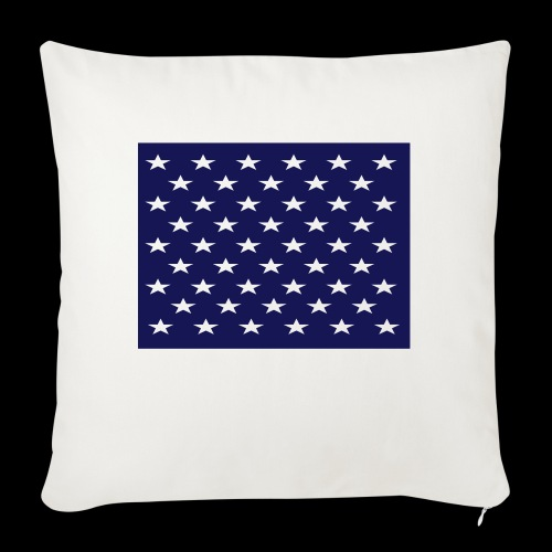 stars and stripes part1 - Sofa pillowcase 17,3'' x 17,3'' (45 x 45 cm)
