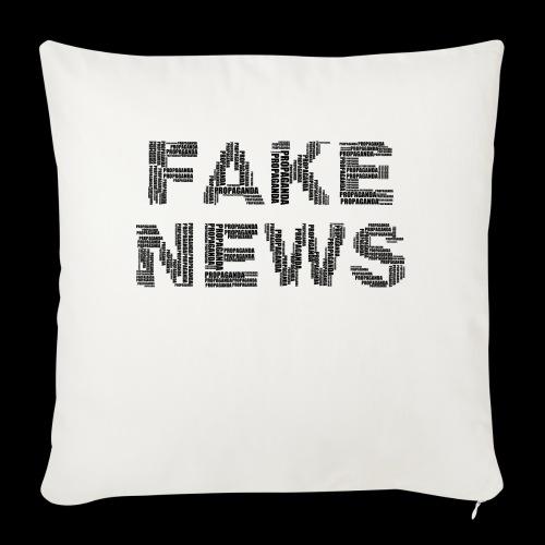 Fake News - Sofakissenbezug 44 x 44 cm