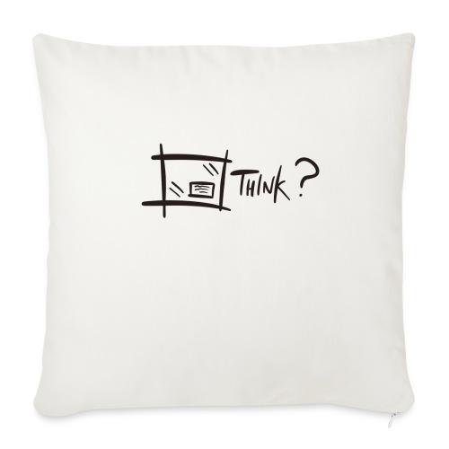Think Outside The Box - Sofa pillowcase 17,3'' x 17,3'' (45 x 45 cm)