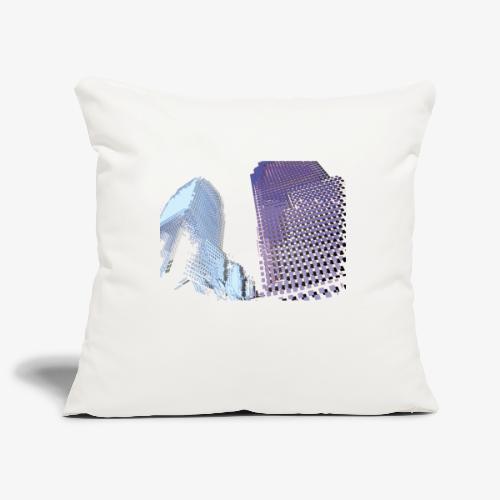 Landscape blu - Copricuscino per divano, 45 x 45 cm