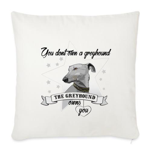 The Greyhound - Soffkuddsöverdrag, 45 x 45 cm