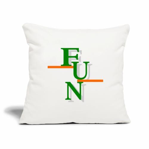 Fun 1 - Sofa pillowcase 17,3'' x 17,3'' (45 x 45 cm)
