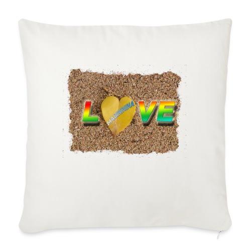 love,madinina - Housse de coussin décorative 45x 45cm