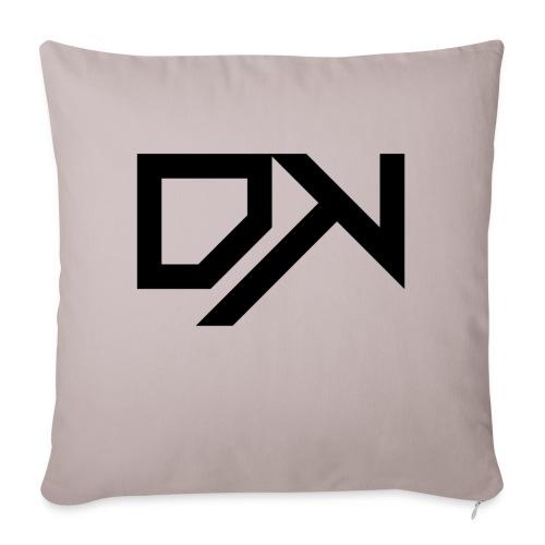DewKee Logo Cap Black - Sofa pillowcase 17,3'' x 17,3'' (45 x 45 cm)