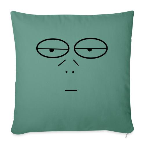 Volto Lenzuolo - Copricuscino per divano, 45 x 45 cm