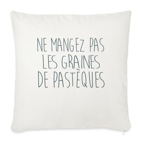 T-Shirt-Femme-Enceinte-personnalise - Housse de coussin décorative 45x 45cm