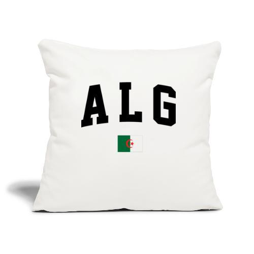T-shirt Algeria - Housse de coussin décorative 45x 45cm