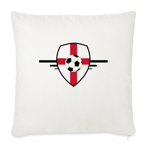 England football - Housse de coussin décorative 45x 45cm