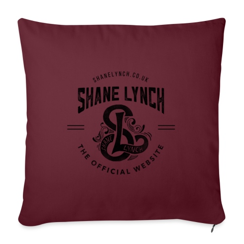 Black - Shane Lynch Logo - Sofa pillowcase 17,3'' x 17,3'' (45 x 45 cm)