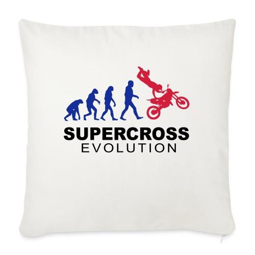 Supercross Evolution - Housse de coussin décorative 45x 45cm