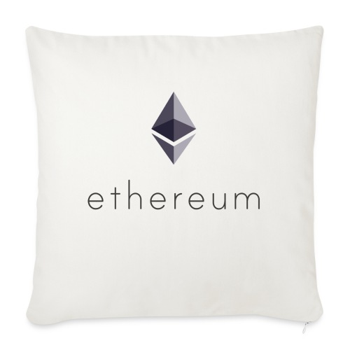 Cryptocurrency - Ethereum (ETH) - Sofakissenbezug 44 x 44 cm