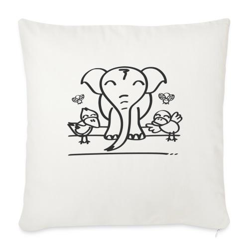 78 elephant - Sofakissenbezug 44 x 44 cm