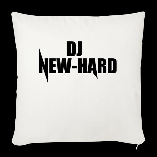 DJ NEW-HARD LOGO - Sierkussenhoes, 45 x 45 cm