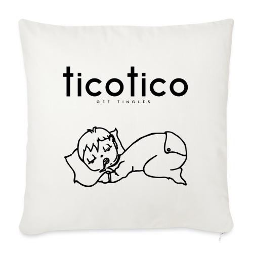 TicoTico! Dormi come un bambino! - Copricuscino per divano, 45 x 45 cm
