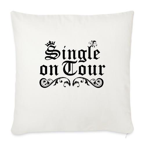 Single on Tour - Sofakissenbezug 44 x 44 cm