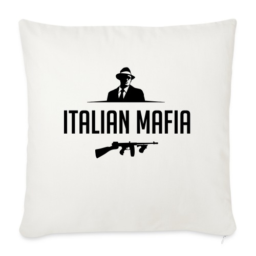 italian mafia - Copricuscino per divano, 45 x 45 cm