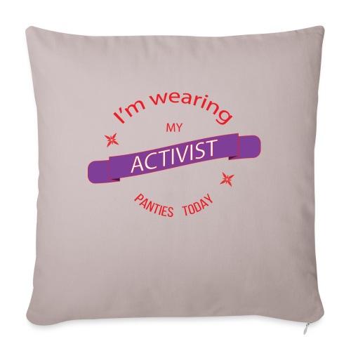 Activist panties - Sohvatyynyn päällinen 45 x 45 cm