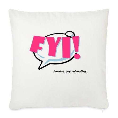 FYI.ai - Sohvatyynyn päällinen 45 x 45 cm